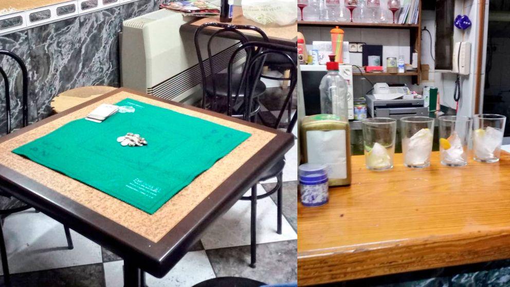 La policía caza a un hostelero que abrió su bar para jugar al mus con sus amigos
