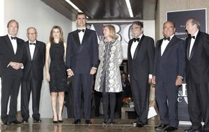 Los Príncipes de Asturias, de cena con los Aznar, Botín y Hermann Tertsch