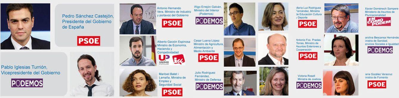 Foto: El Gobierno ideal de Podemos Zaragoza desapareció de Twitter solo dos horas después de ser publicado. (Twitter)