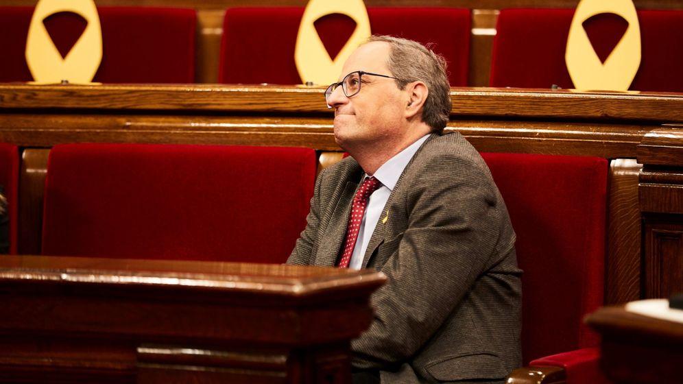 Foto: El presidente de la Generalitat Quim Torra. (EFE)