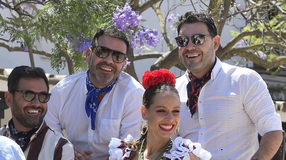 Foto: Eva González en la Feria del Rocío. (Cordon Press)
