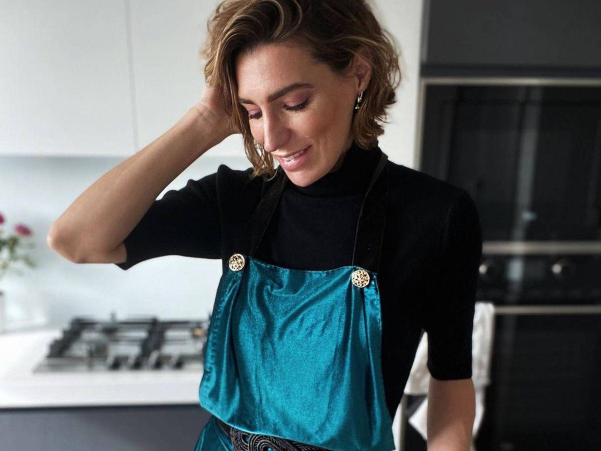 Foto: Eugenia Osborne nos enseña una receta sencilla y rápida. (Instagram @eugenia_osborne)