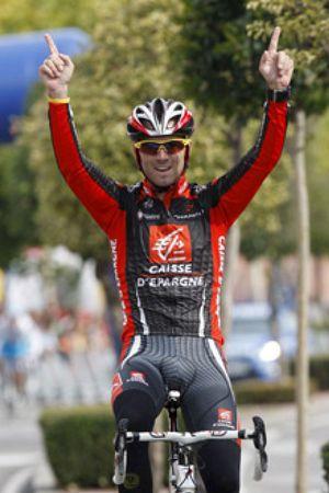 Alejandro Valverde se prueba con Armstrong y Evans