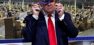 Post de Trump convierte su visita a Ford en un mitin sin mascarilla: