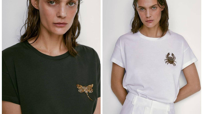 Nuevas camisetas de Massimo Dutti. (Cortesía)