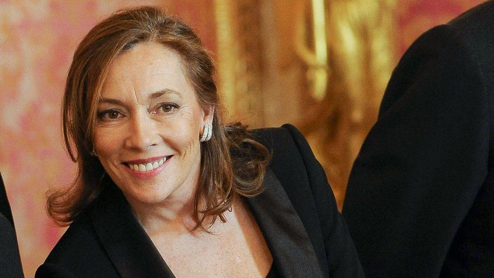 Elvira Fernández, esposa de Mariano Rajoy, cumple 50 años