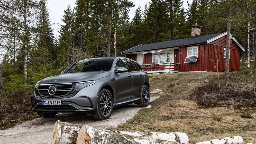 Foto: Comienza el despliegue EQ de Mercedes