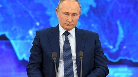 El Putin más pandémico: una pantalla, té de hierbas y 60 preguntas