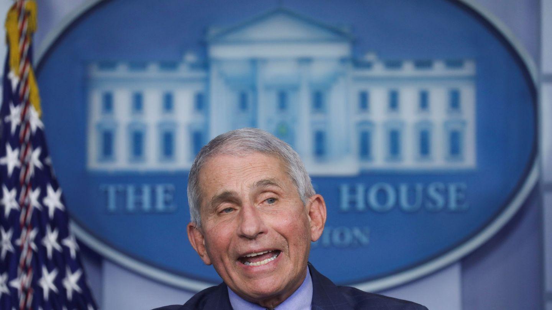 El doctor Anthony Fauci, epidemiólogo de la Casa Blanca. (Reuters)