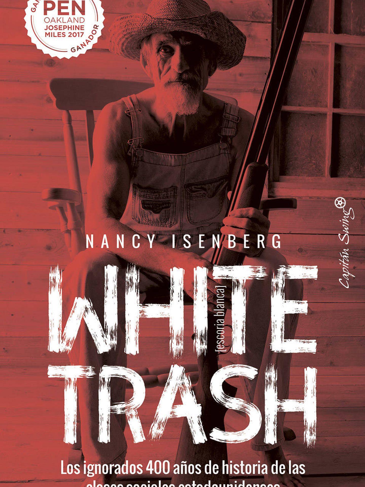 Portada de 'White Trash', de Nancy Isenberg.