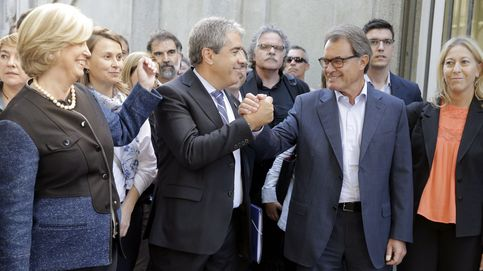 Todas las imágenes de la llegada de Homs al Supremo