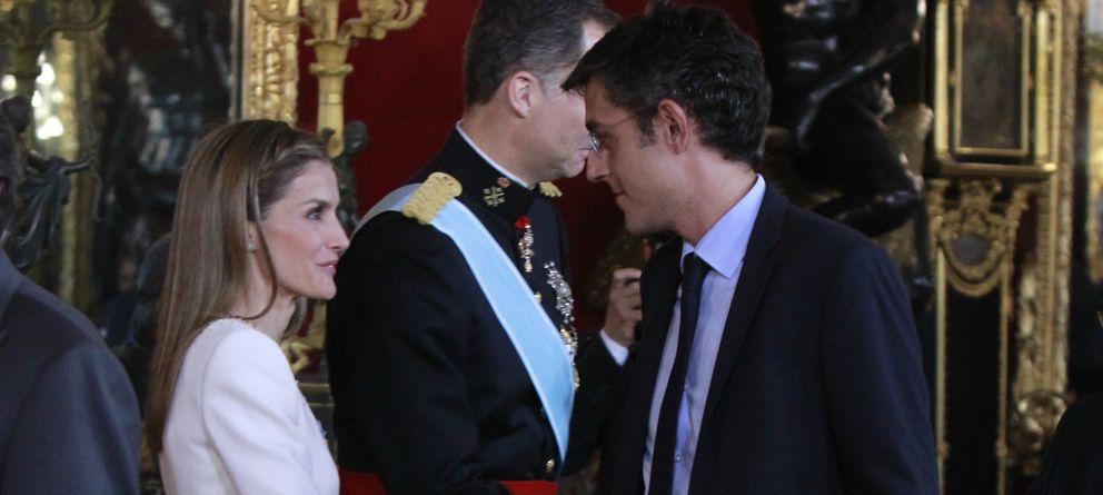 Foto: Doña Letizia saludando a Madina  (Gtres)