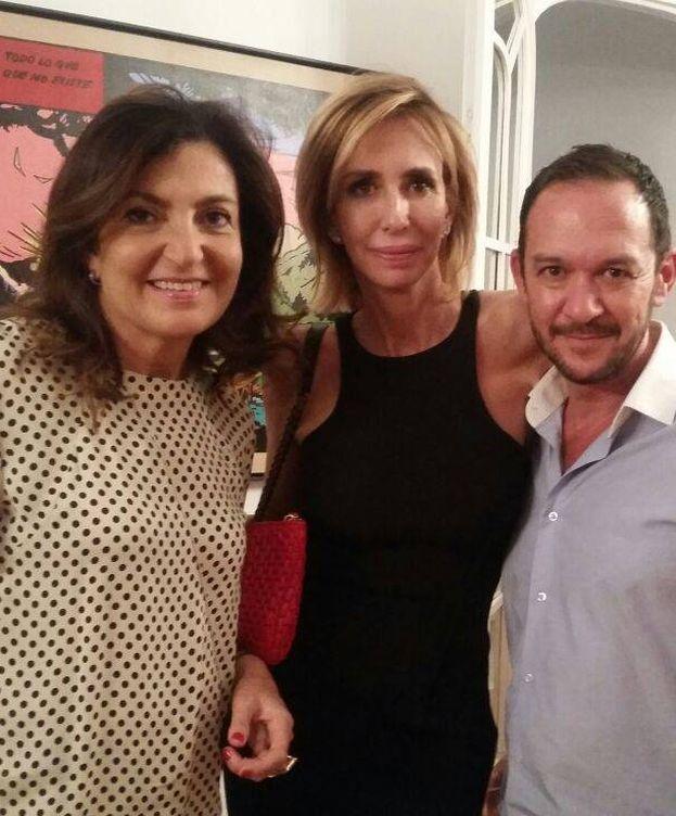 Foto: María Porto con Ulises Mérida. (VA)