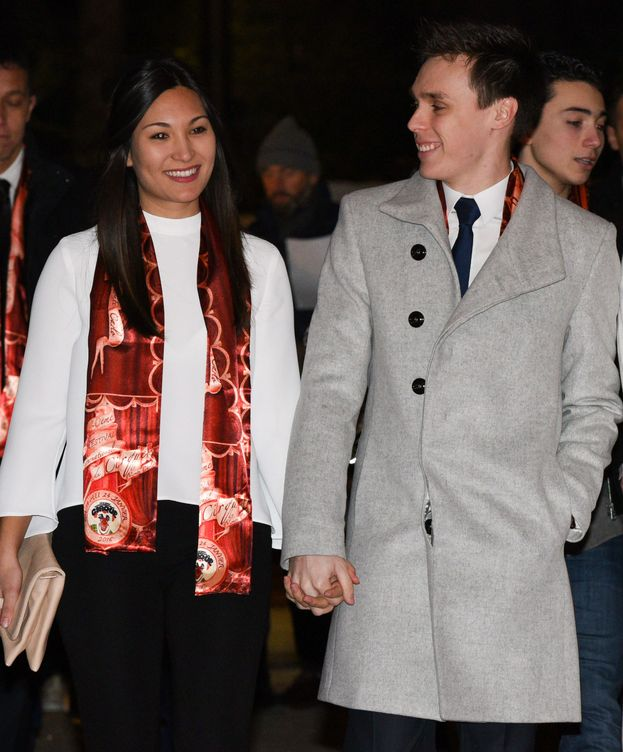 Foto: Louis Ducruet junto a su novia, Marie Chevallier. (Gtres)