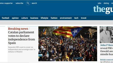 Los medios internacionales se hacen eco de la declaración de independencia de Cataluña