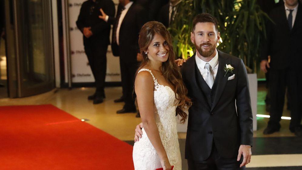 Foto: Boda de Leo Messi y Antonella Rocuzzo.