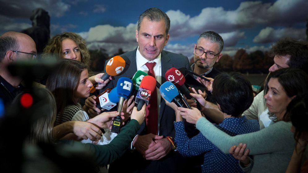 Foto: El portavoz de Vox en el Ayuntamiento de Madrid, Javier Ortega Smith. (EFE)