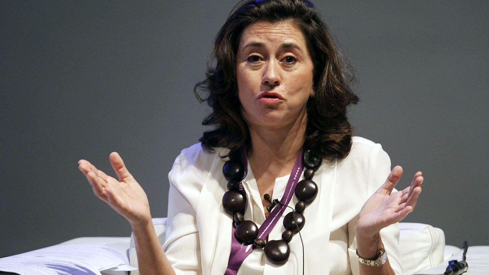 Foto: La presidenta de Paradores de España, Ángeles Alarcó.