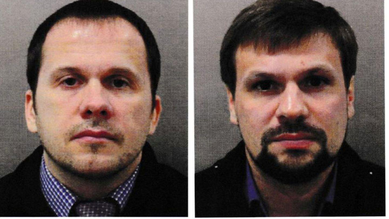 Alexander Petrov y Ruslan Boshirov (Anatoliy Chepiga), dos de los acusados del envenenamiento del agente doble Sergei Skripal y su hija Yulia. Chepiga fue identificado por Bellingcat. (Reuters)