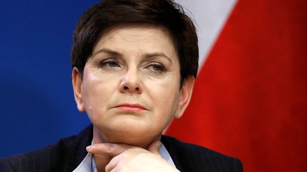 Foto: Beata Szydlo, primera ministra de Polonia (Reuters)
