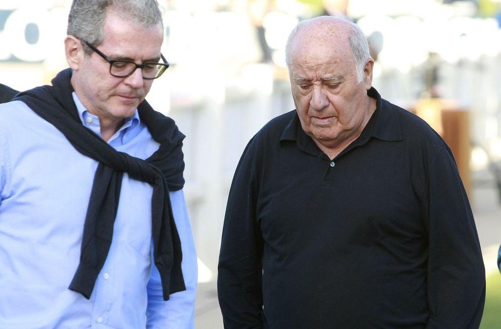 Foto: Pablo Isla, presidente de Inditex, y Amancio ortega, fundador y mayor accionista. (EFE)