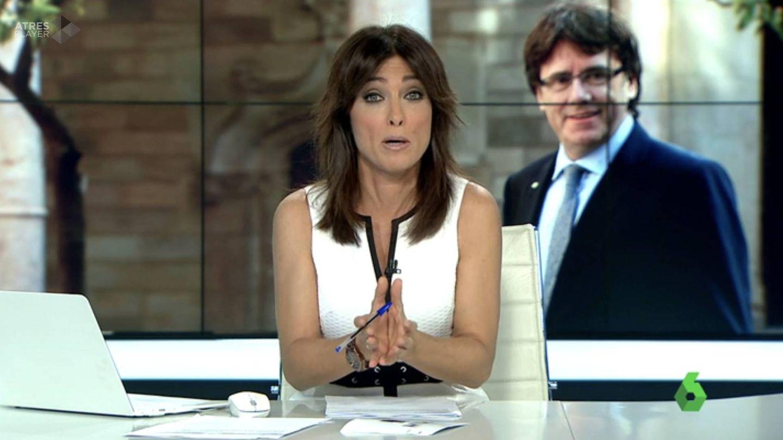 Helena Resano, presentadora de 'La Sexta noticias 14h'.