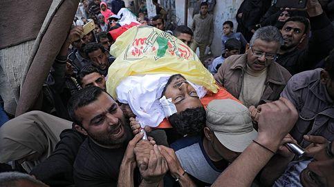 Calma en la frontera de Gaza un día después del estallido violento en el que murieron 16 palestinos