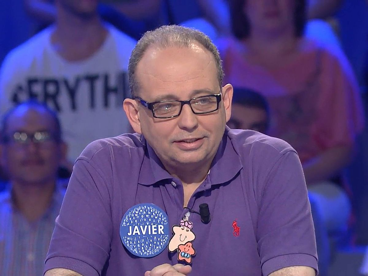 Foto: Javier Dávila, nuevo concursante de 'Pasapalabra'. (Mediaset)
