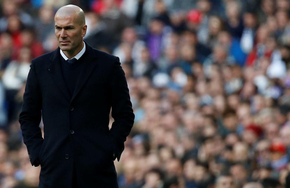 Foto: Las lesiones están amargando la vida de Zidane (Reuters)