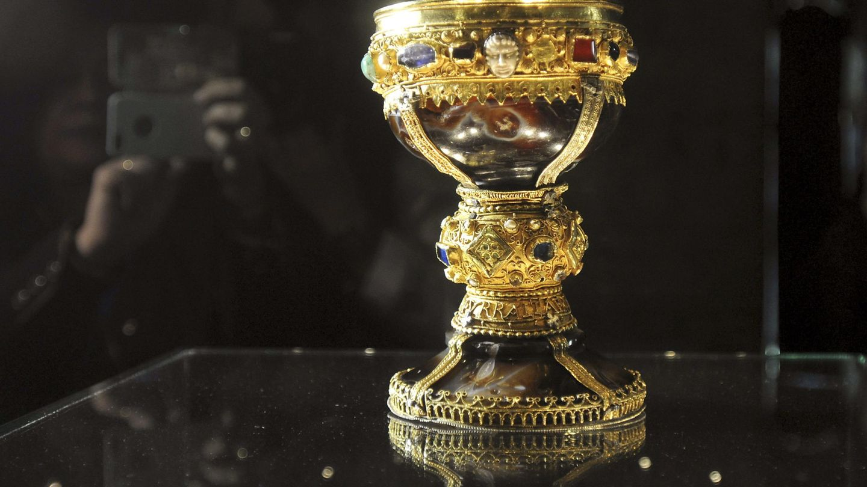 El Cáliz de Doña Urraca, señalado como el Santo Grial de Cristo (EFE)
