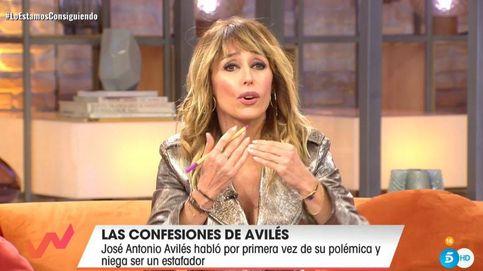Emma García da la cara por José Antonio Avilés a pesar de sus mentiras