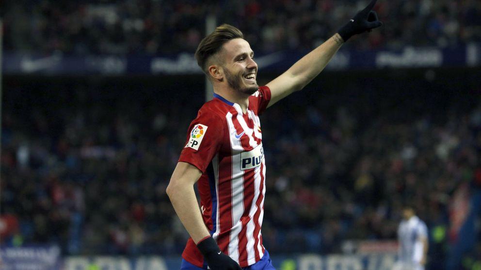 El Cholo Simeone insta a Saúl a continuar en el Atlético de Madrid