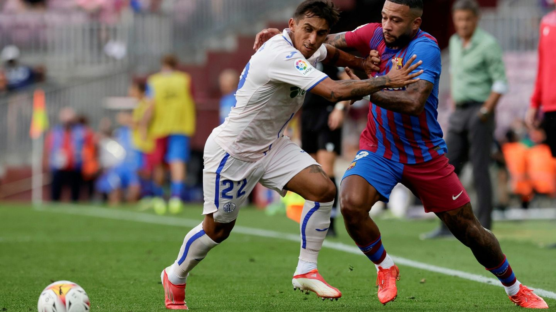 El FC Barcelona-Getafe del domingo fue el partido con más faltas de la jornada (38). (EFE)