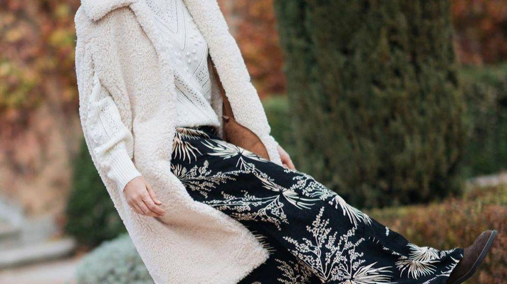 Foto: Tamara Falcó posa en redes sociales con uno de los jerséis de la marca. (Instagram)