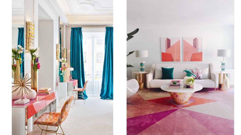 Los elementos brillantes y los estampados en alfombras serán un must (Imagen: Nuria Alía)