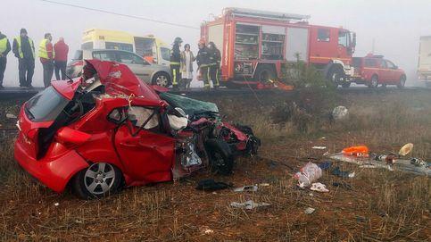 Sube el número de fallecidos en carretera: en 2016 ha habido 29 muertos más