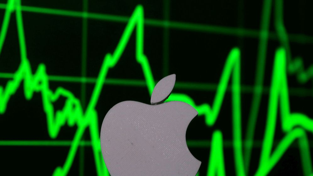 Foto: Logo de Apple. (Reuters)