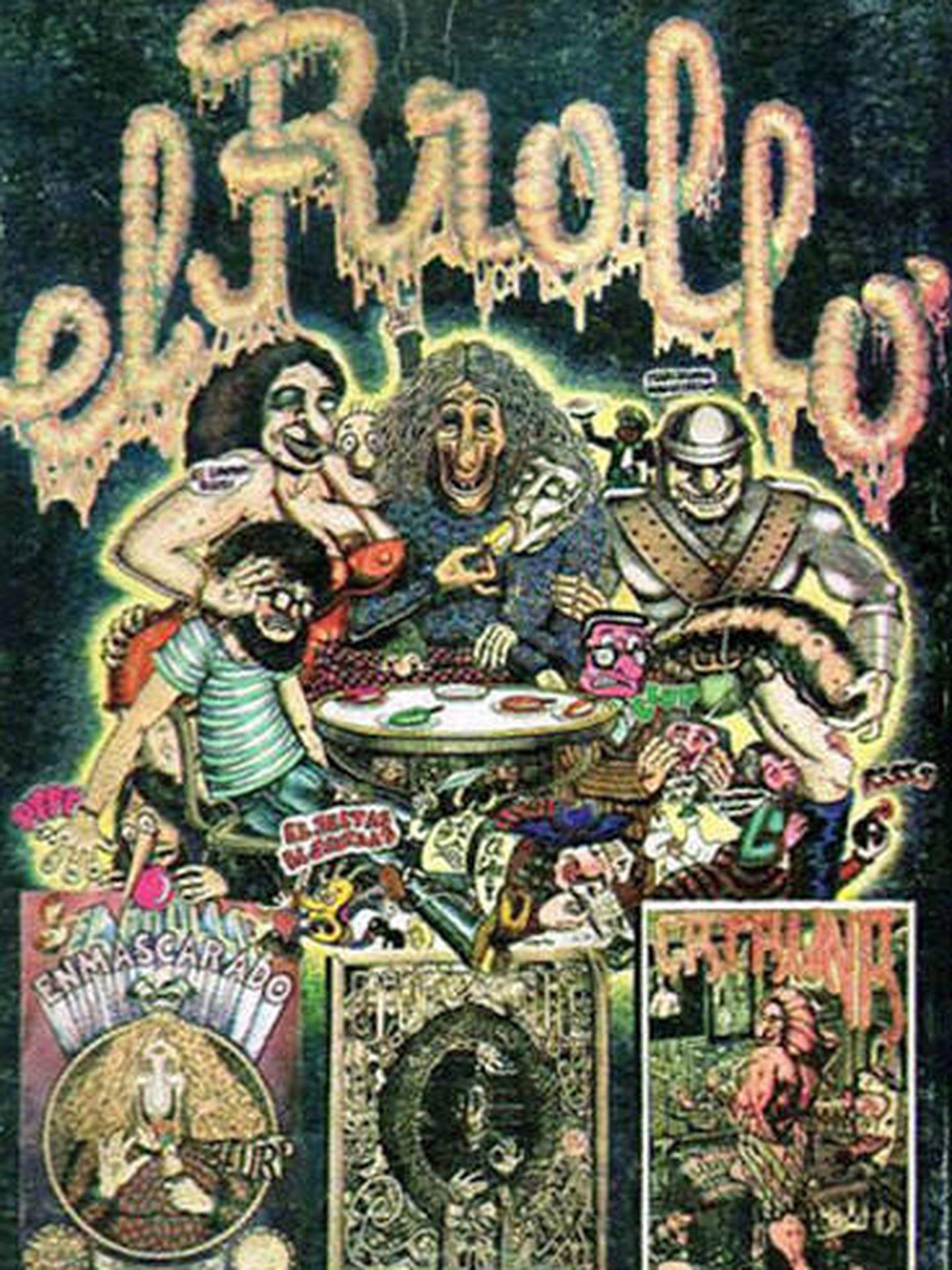'El Rrollo Enmascarado' de Nazario Luque, Javier Mariscal, Farry y Pepichek