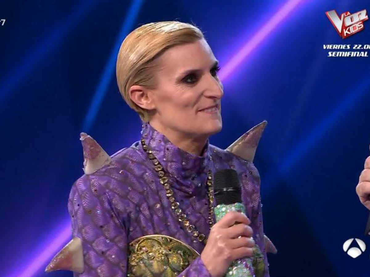 Foto: María Zurita, concursante de 'Mask Singer'. (Atresmedia Televisión)