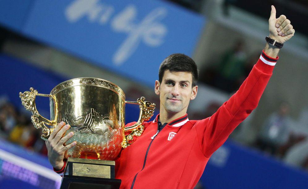 Foto: Es el sexto título de Djokovic en Pekín (Efe)