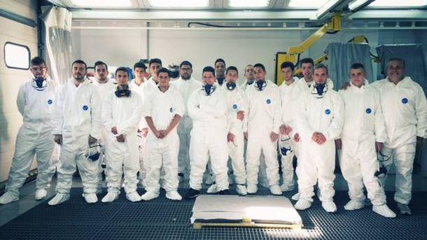 Foto: Participantes en el programa 'Jóvenes Profesionales'.