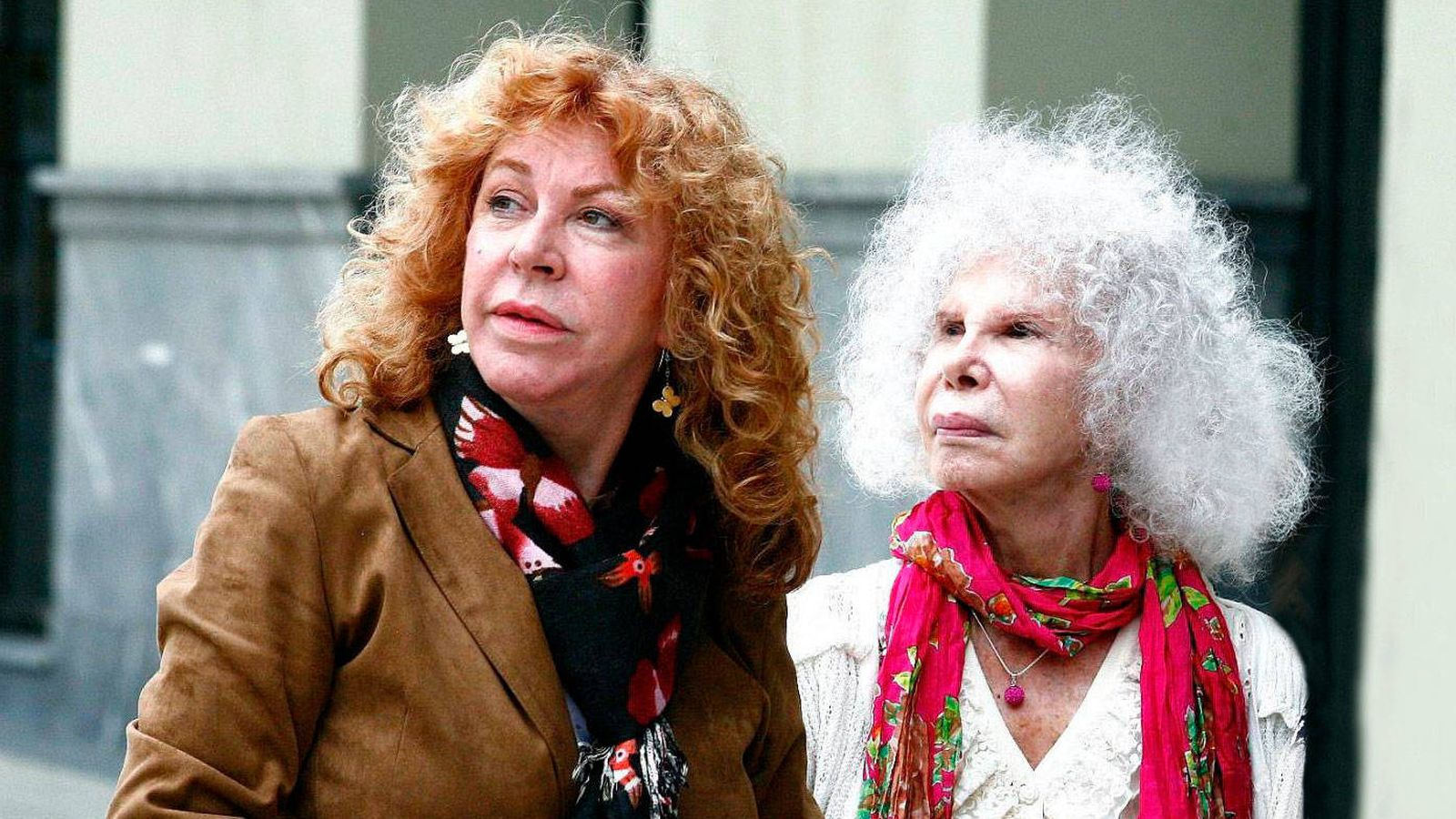 Foto: Eugenia Fernández de Castro y la duquesa de Alba. (Cordon Press)