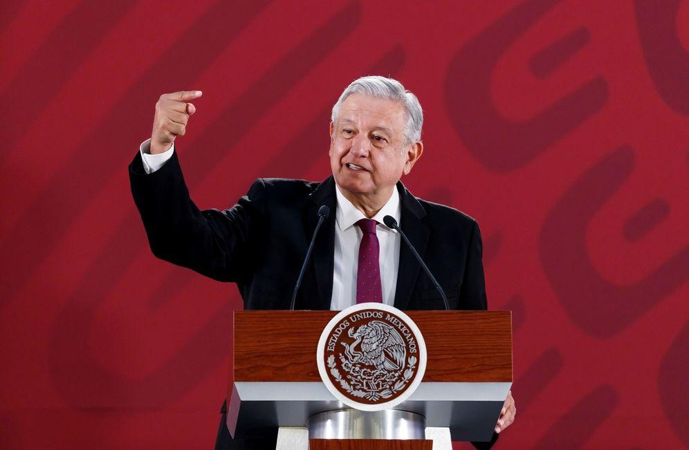 Foto: El presidente mexicano, Andrés Manuel López Obrador, este 25 de marzo en Ciudad de México. (EFE)