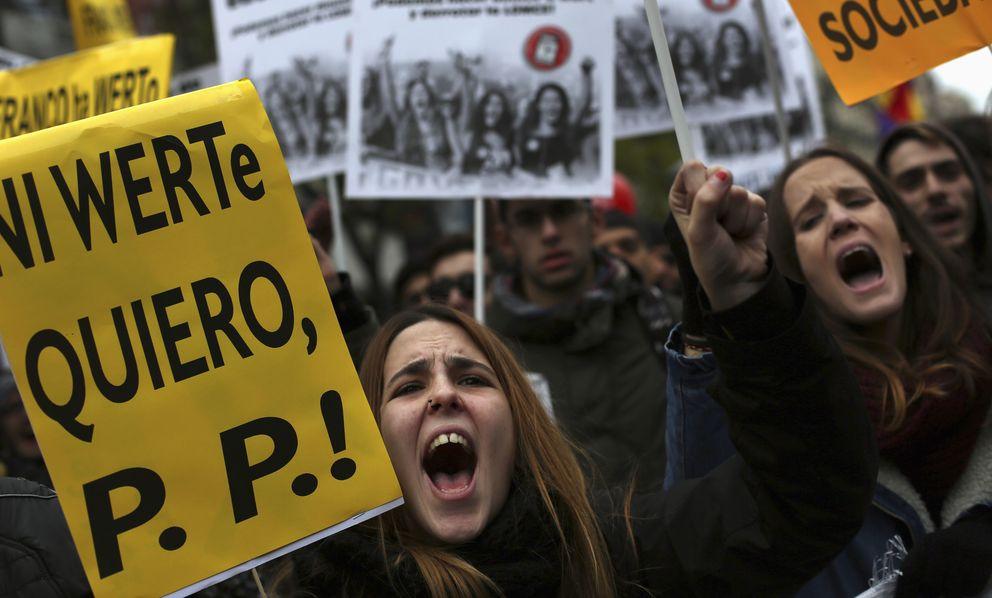 Foto: Una manifestación contra las políticas de José Ignacio Wert en Madrid. (Efe)