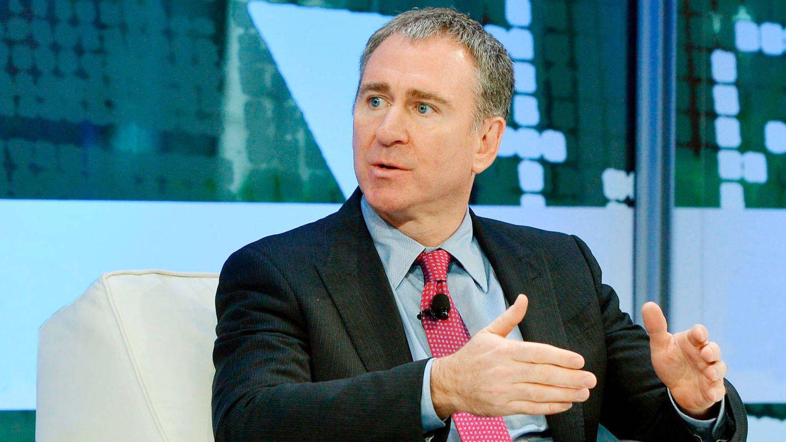 Foto: Griffin durante una conferencia. (Getty)