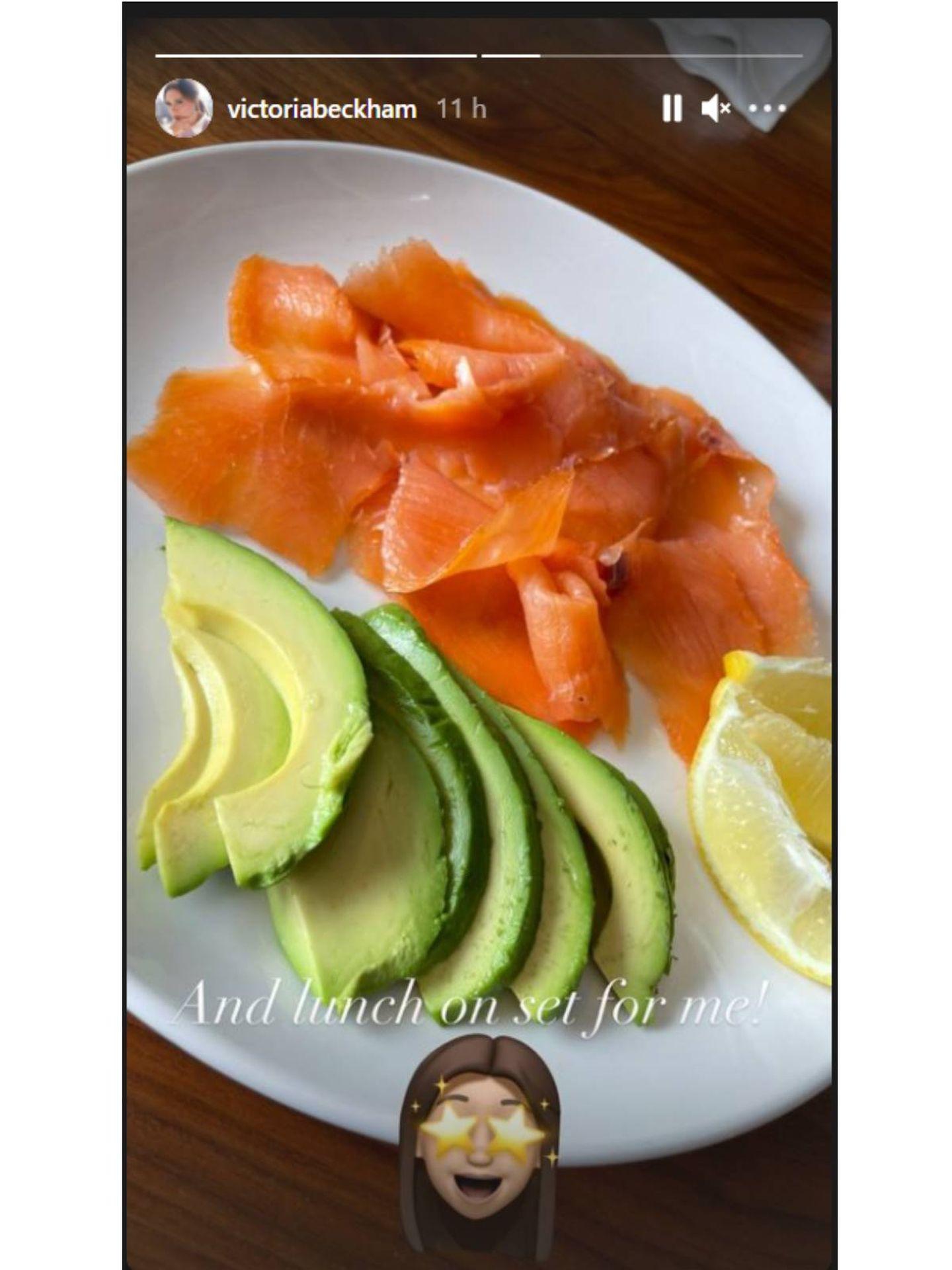 El menú antiedad de Victoria Beckham. (INstagram @victoriabeckham)