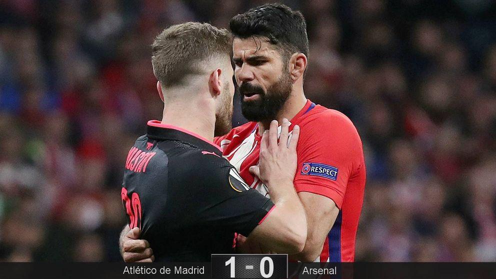 La canción de Diego Costa, metal y ruido para meter al Atlético en la final de Lyon