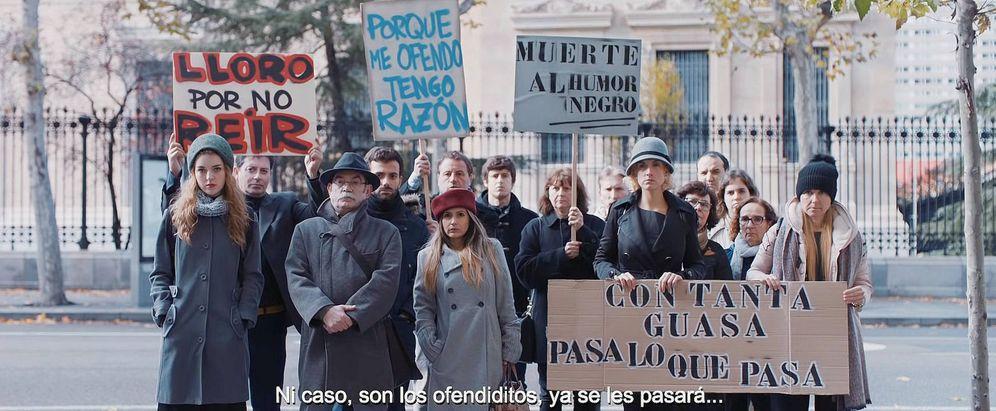 Foto: Los 'ofendiditos' del anuncio de Campofrío