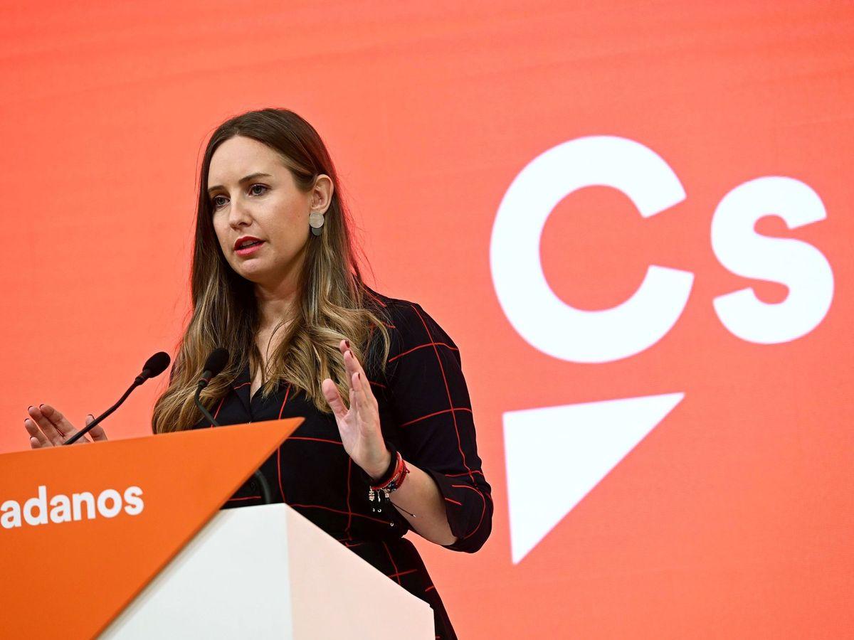 Foto: La portavoz de Ciudadanos (Cs), Melisa Rodríguez, anunció la medida tomada. (EFE)