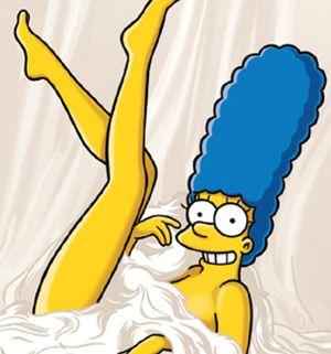 Marge Simpson se destapa en 'Playboy'